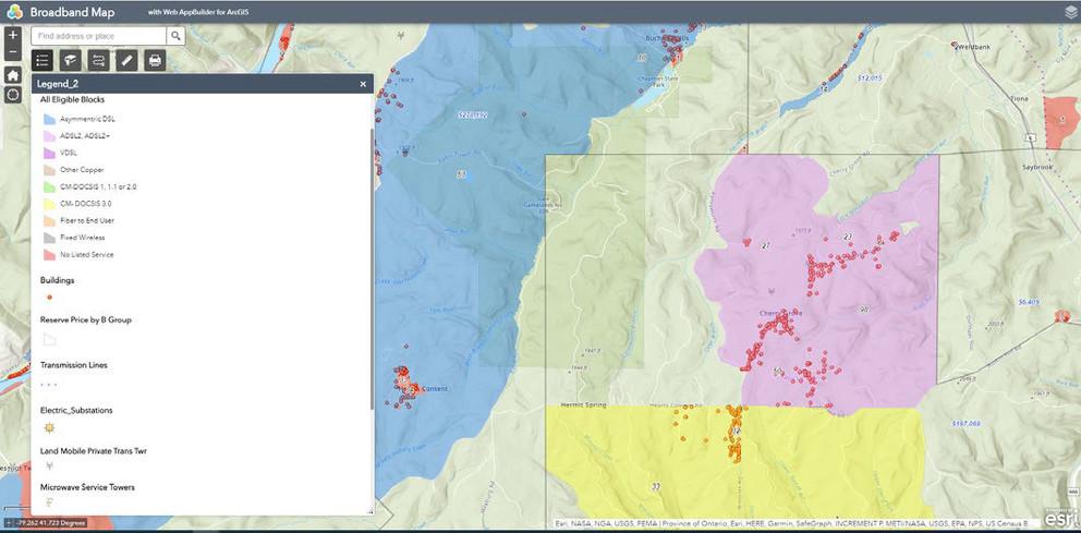 Interactive Map to aid PA Broadband Providers | BCTV
