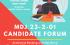 MDJ 23-2-01 Candidate Forum